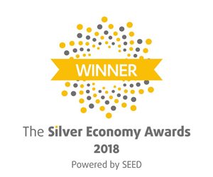 Winner Silver Economy Awards 2018